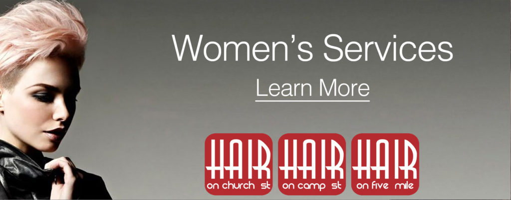 Click through to see our Salon services for women